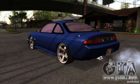 Nissan 200SX for GTA San Andreas back left view