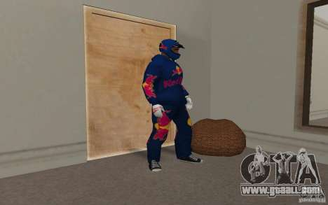 Red Bull Clothes v2.0 for GTA San Andreas forth screenshot