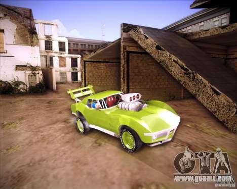 Chevrolet Corvette drag for GTA San Andreas