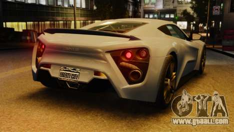 Zenvo ST1 for GTA 4
