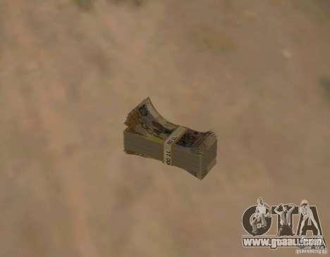Kazakh money for GTA San Andreas