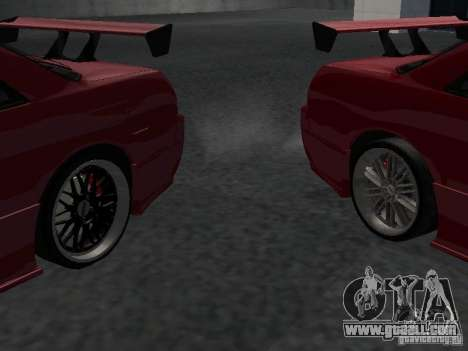 Nissan Skyline R32 Tuned for GTA San Andreas bottom view