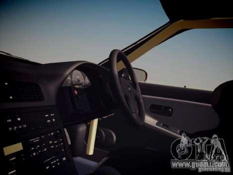 Nissan Silvia S13 Daijiro Yoshihara for GTA San Andreas inner view