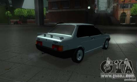 VAZ 21099 Coupe for GTA San Andreas back view