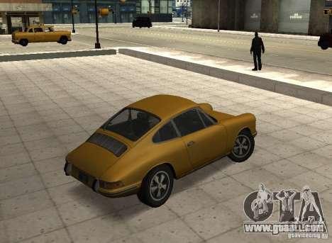 Porsche 911 S for GTA San Andreas left view
