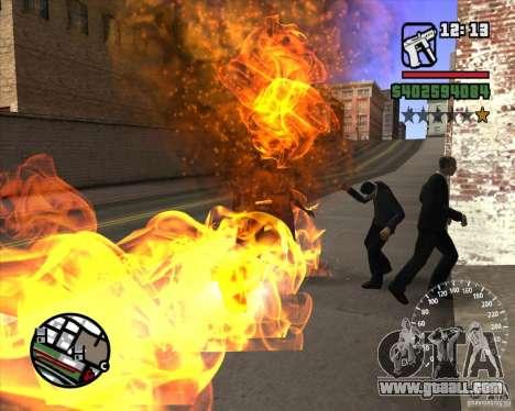 Ghost Rider for GTA San Andreas third screenshot