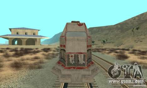 A good train, Star Wars for GTA San Andreas left view