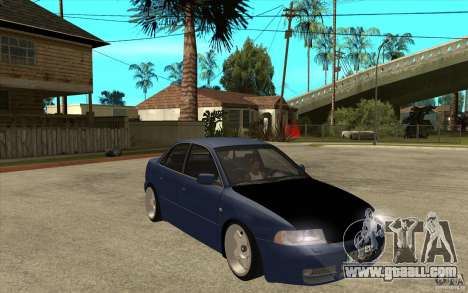 Audi A4 for GTA San Andreas back view