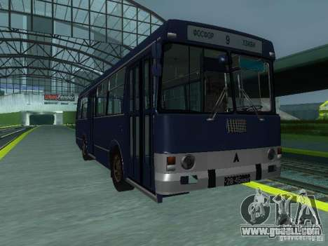 LAZ-4202 for GTA San Andreas inner view