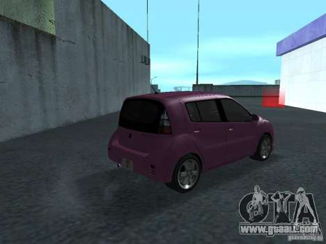 Toyota WiLL Cypha for GTA San Andreas right view