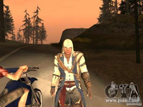 Connor From ACIII for GTA San Andreas