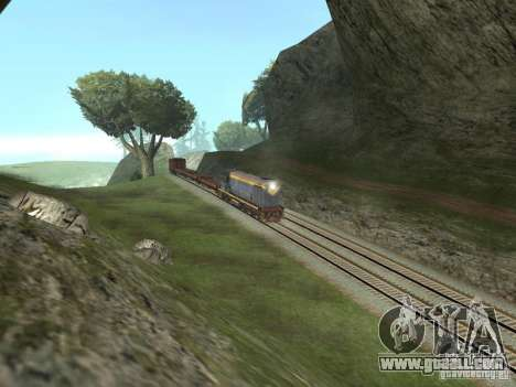 TÈM1M-1836 for GTA San Andreas back view