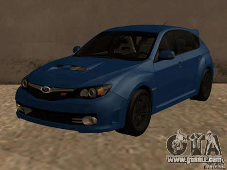 Subaru Imreza WRX for GTA San Andreas