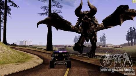 Hidden Dragon for GTA San Andreas third screenshot