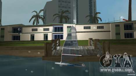 Windsurf for GTA Vice City left view