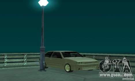 VAZ 2113 ADT Art Tuning for GTA San Andreas back view