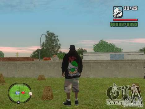 NEW Ryder for GTA San Andreas second screenshot