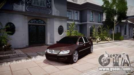 Volkswagen Phaeton W12 Long for GTA 4 right view