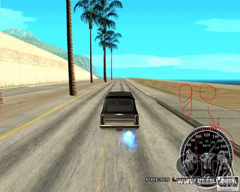 Perenniel Speed Mod for GTA San Andreas second screenshot