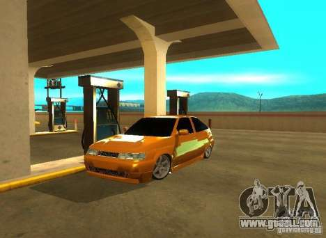 Vaz-2112 car Tuning for GTA San Andreas back left view