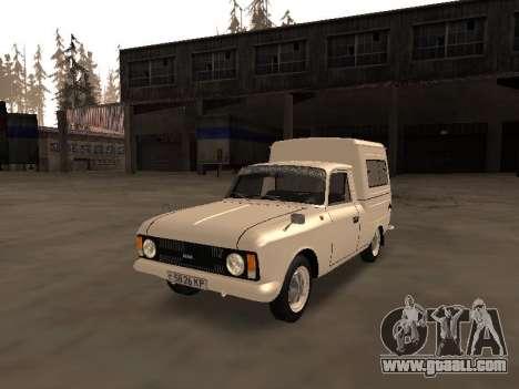 Izh 2715 for GTA San Andreas