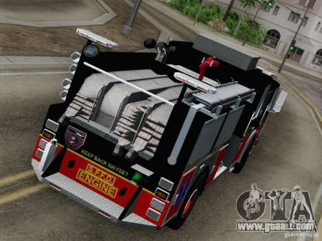 Seagrave Marauder Engine SFFD for GTA San Andreas inner view