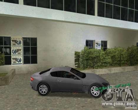 Maserati  GranTurismo for GTA Vice City right view