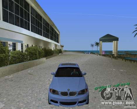 BMW 135i for GTA Vice City left view