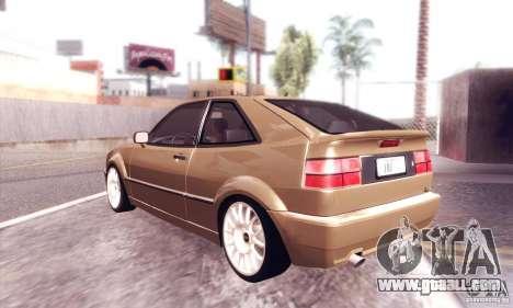 Volkswagen Corrado for GTA San Andreas right view