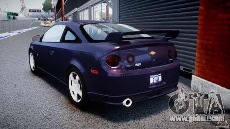 Chevrolet Cobalt SS for GTA 4 back left view