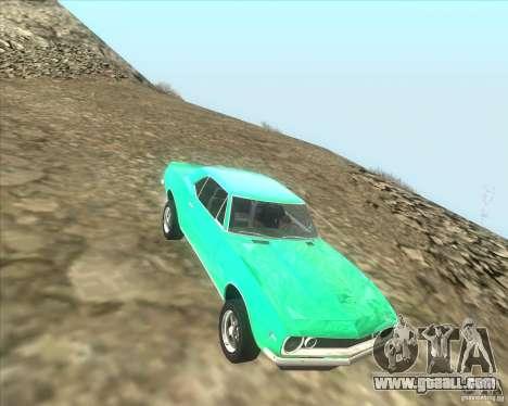 Chevrolet Camaro z28 for GTA San Andreas