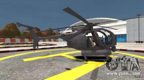 New AH-6 Little Bird for GTA 4 left view