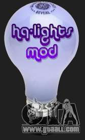 High Quality Lights Mod v2.0 - HQLM v 2.0 for GTA San Andreas