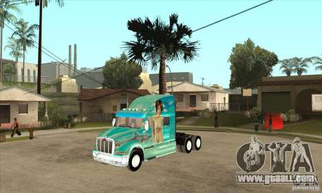 Peterbilt 387 skin 4 for GTA San Andreas
