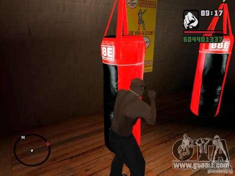 Punshbag for GTA San Andreas