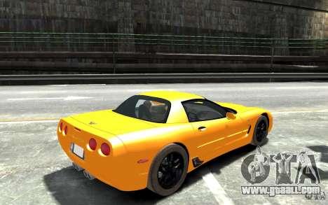 Chevrolet Corvette C5 2005 for GTA 4 right view