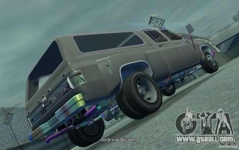 Chevrolet Silverado for GTA 4 back left view