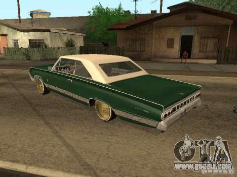 Mercury Park Lane Lowrider for GTA San Andreas left view