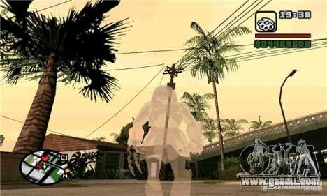 Effects of Predator v 1.0 for GTA San Andreas