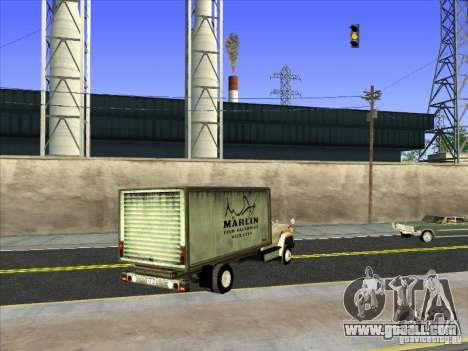 Yankee based on GMC for GTA San Andreas back left view