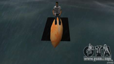 Surfboard 2 for GTA Vice City right view