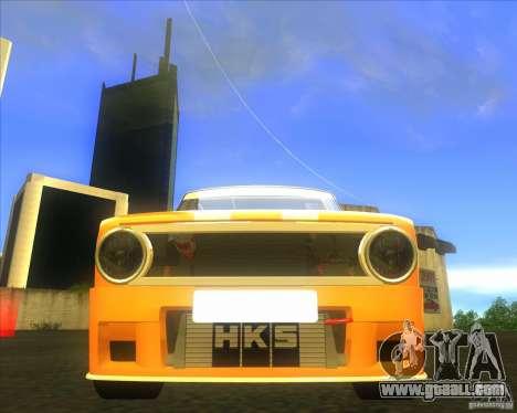 VAZ 2101 explosive car tuning for GTA San Andreas back view