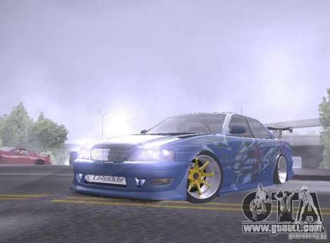 Toyota Chaser JZX100 Weld for GTA San Andreas