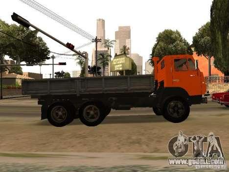 KAMAZ 5320 for GTA San Andreas left view