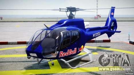 Eurocopter EC130 B4 Red Bull for GTA 4