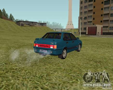 VAZ 21099 Suite for GTA San Andreas left view