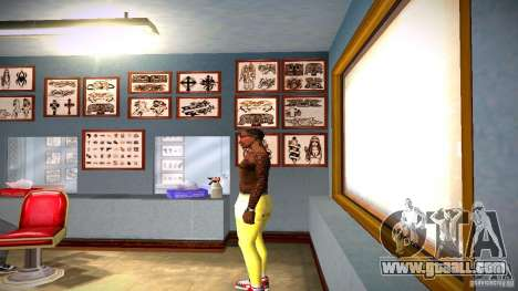 Three new tattoo for GTA San Andreas second screenshot
