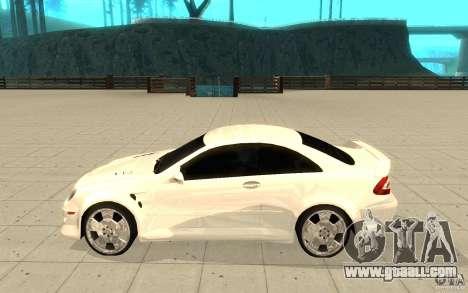 Mercedes-Benz CLK 500 Kompressor for GTA San Andreas left view
