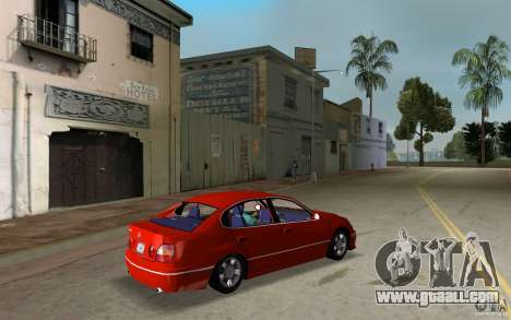 Lexus GS430 for GTA Vice City right view