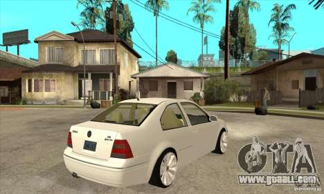 Volkswagen Bora VR6 4MOTION for GTA San Andreas right view